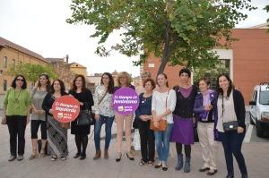 municipios igualitarios. candidatas de iupara la gente y de malaga para la gente