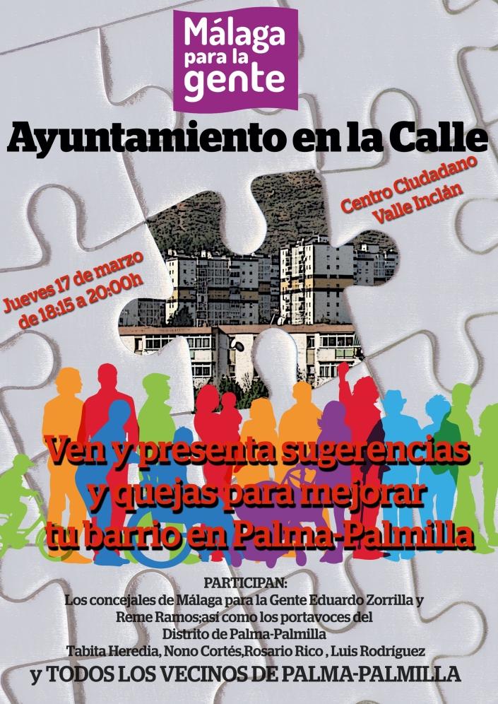 2016.03.17. Asamblea Ayuntamiento a la Calle. Palma Palmilla